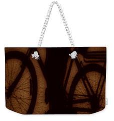 Bike Weekender Tote Bag by Beto Machado