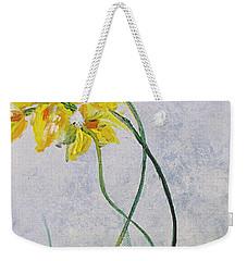 3 Blooms Dancing Weekender Tote Bag