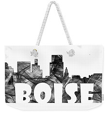 Boise Idaho Skyline Weekender Tote Bag