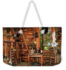 Cajun Cabin Weekender Tote Bag