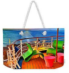 Carnival Pride Deck Weekender Tote Bag