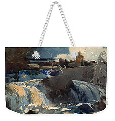 Casting In The Falls Weekender Tote Bag