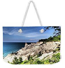 Chimney Bluffs Weekender Tote Bag
