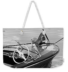 Chris Craft Deluxe Weekender Tote Bag