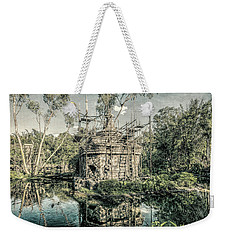 Weekender Tote Bag featuring the photograph D Abstract Photography by Kevin Blackburn