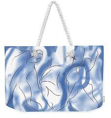 3 Dancing Figures Weekender Tote Bag