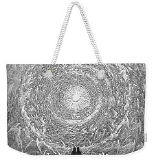 Weekender Tote Bag featuring the photograph Dante Paradise by Gustave Dore