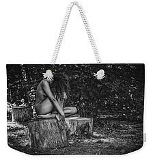 Weekender Tote Bag featuring the photograph Dany by Traven Milovich