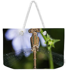 Dragonfly Weekender Tote Bag by Nikki McInnes