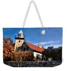 Eagle Bluff Lighthouse Weekender Tote Bag