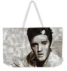 Elvis Presley, Singer Weekender Tote Bag