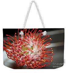 Exotic Flower Weekender Tote Bag by Elvira Ladocki