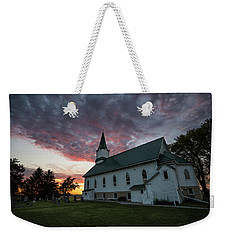 Weekender Tote Bag featuring the photograph Faith  by Aaron J Groen