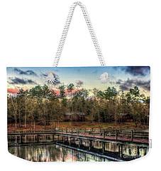 Weekender Tote Bag featuring the photograph Flint Creek by Maddalena McDonald