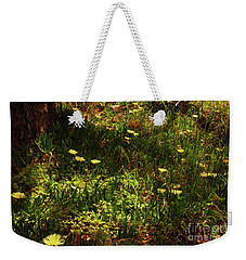 Weekender Tote Bag featuring the photograph Flowers by Cassandra Buckley