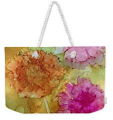 3 Flowers Weekender Tote Bag