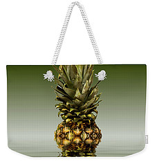 Weekender Tote Bag featuring the photograph Fresh Ripe Pineapple Fruits by David French