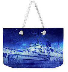 Ghost Ship Weekender Tote Bag