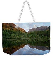 Golden Light In Glencoe Weekender Tote Bag