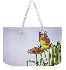 Great Crested Flycatcher Weekender Tote Bag