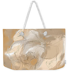 3 Horses Weekender Tote Bag by Mary Armstrong