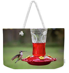 My Sweet Hummingbird Weekender Tote Bag