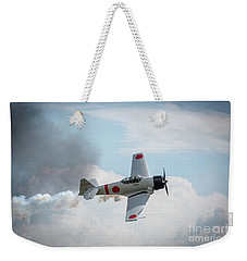Japanese Zero- Mitsubishi A6m Weekender Tote Bag