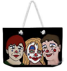 3 Jesters Weekender Tote Bag