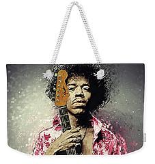 Jimi Hendrix Weekender Tote Bag