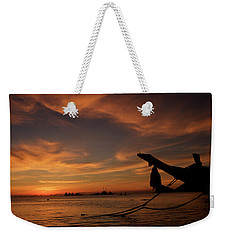 Koh Tao Island In Thailand Weekender Tote Bag by Tamara Sushko
