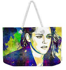 Kristen Stewart Weekender Tote Bag by Svelby Art