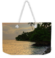 Weekender Tote Bag featuring the photograph Lahaina Sunset by Kelly Wade