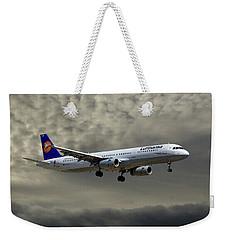 Lufthansa Airbus A321-131 Weekender Tote Bag
