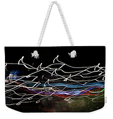 Magic Color Weekender Tote Bag