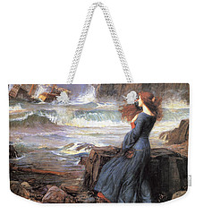 Miranda - The Tempest Weekender Tote Bag