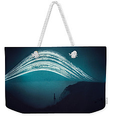 3 Month Exposure At Beachy Head Lighthouse Weekender Tote Bag