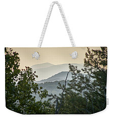 Mountains In The Distance Weekender Tote Bag