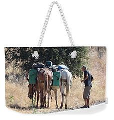 3 Mules Weekender Tote Bag