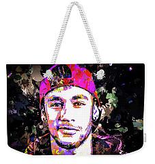 Neymar Weekender Tote Bag by Svelby Art