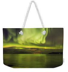 Northern Lights Reykjavik Weekender Tote Bag