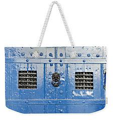 Old Blue Door Weekender Tote Bag