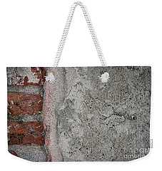 Weekender Tote Bag featuring the photograph Old Wall Fragment by Elena Elisseeva