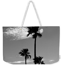 3 Palms Weekender Tote Bag by Janice Westerberg