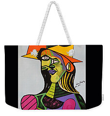 Picasso By Nora Weekender Tote Bag by Nora Shepley