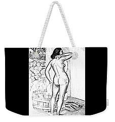 Pinup Weekender Tote Bag