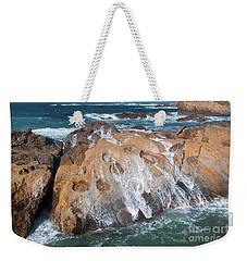 Point Lobos Concretions Weekender Tote Bag