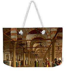 Prayer In The Mosque Weekender Tote Bag by Jean-Leon Gerome