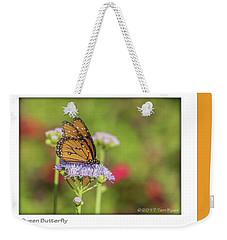 Monarch Butterfly Weekender Tote Bag by Tam Ryan