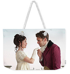 Regency Couple  Weekender Tote Bag