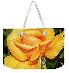 Rose Beauty Weekender Tote Bag by Shirley Mitchell